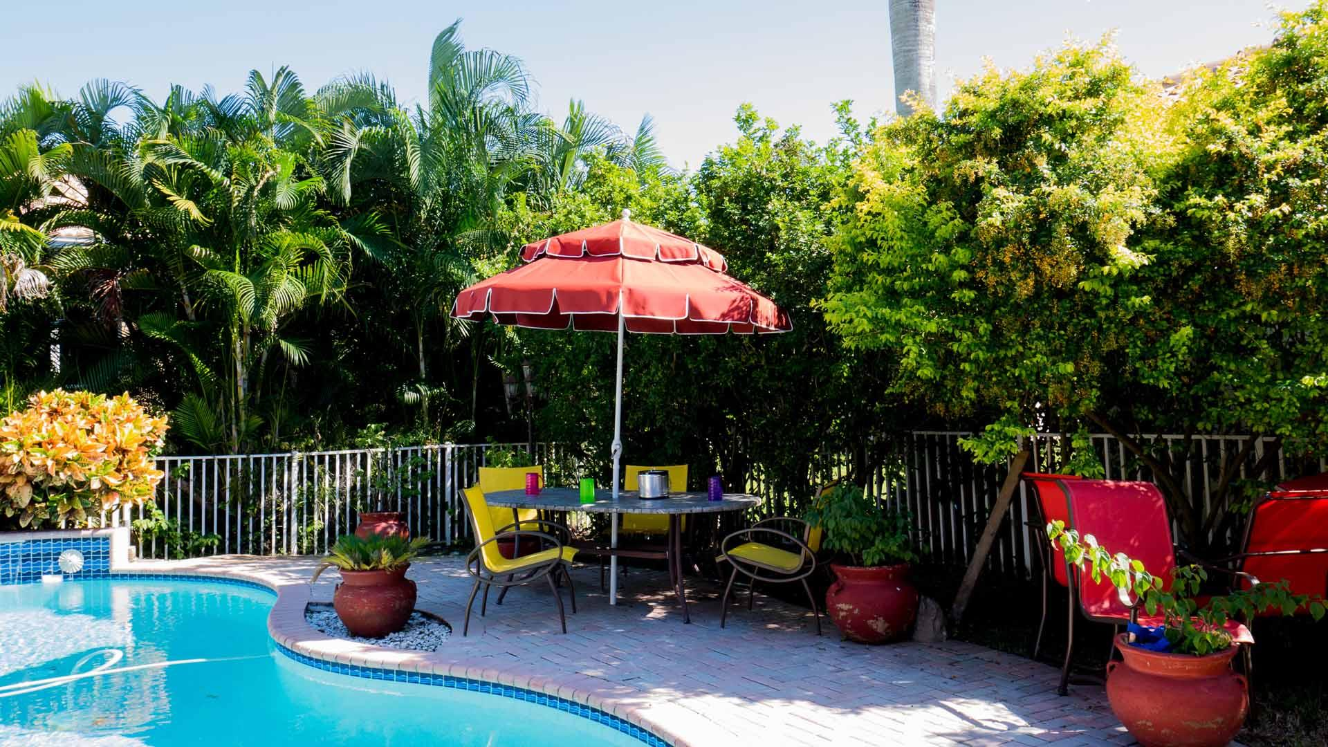 Patio Umbrella 7.50 to 9.00 Ft by 8 Ribs, Doule Tier, Crank or Push-up, Fiberglass Ribs, Canvas, Aluminum Pole (1 or 2 Piece Pole)